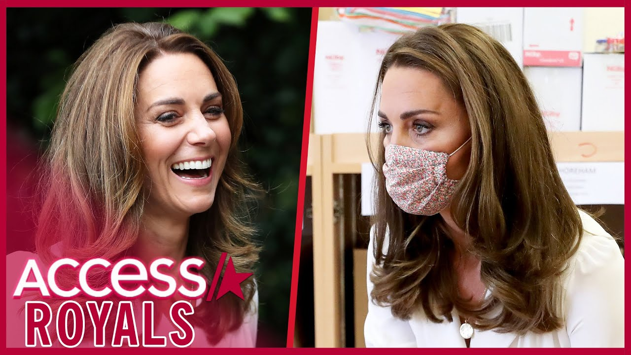 Kate Middleton Debuts Face Mask