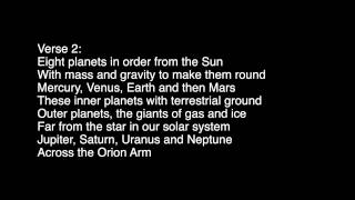 Natural Satellites | A Song About the Solar System | Dr. Lodge McCammon