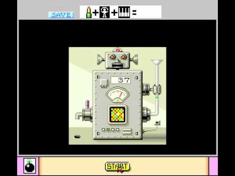 Mario Paint Robot Save Animation and Music