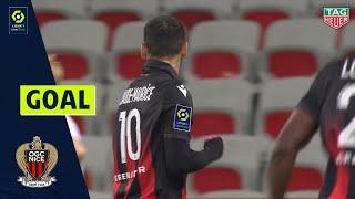 Goal Alexis CLAUDE-MAURICE (75' - OGC NICE) OGC NICE - NÎMES OLYMPIQUE (2-1) 20/21