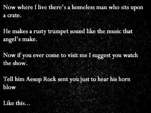 Aesop Rock - Battery (Official Lyrics)