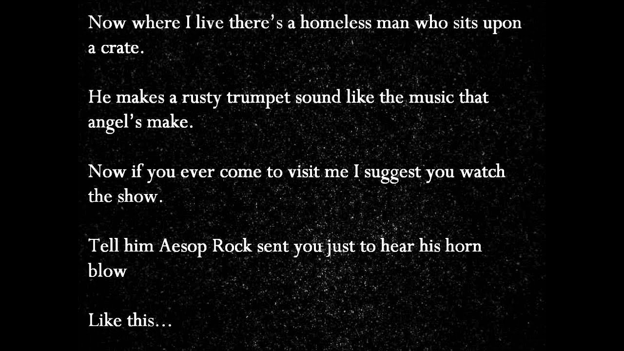 Aesop Rock – Night Light Lyrics | Genius Lyrics