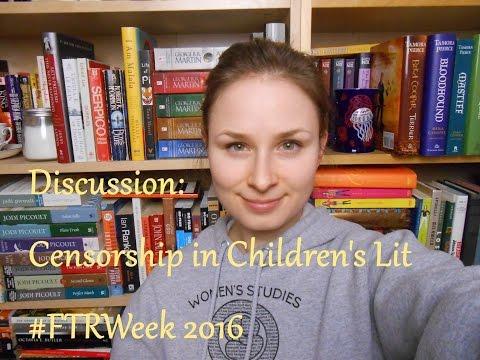 #FTRWeek Discussion | Censorship of Children's Lit
