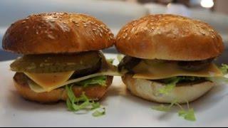 Оригинальный рецепт чизбургера из МакДональдса