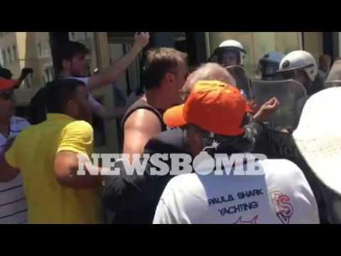 newsbomb.gr: Επεισόδια στη Βουλή