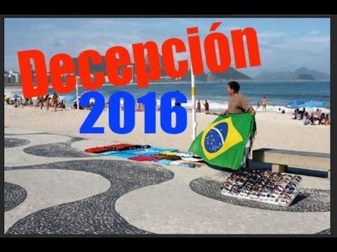Copacabana una gran decepción Rio de Janeiro Brasil 2016