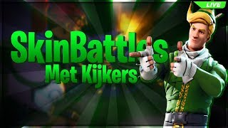 SKINBATTLES WITH YOU (Join us too!) Fortnite Live EN 400 + wins | | MOD GIVEAWAY