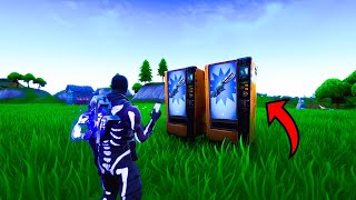 How to get the VENDING MACHINES in your creative island (New) Fortnite glitches season 8 PS4/Xbox