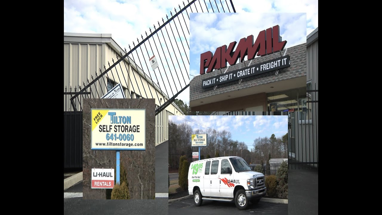 Tilton Self Storage Pak Mail U Haul In Egg Harbor Township Nj
