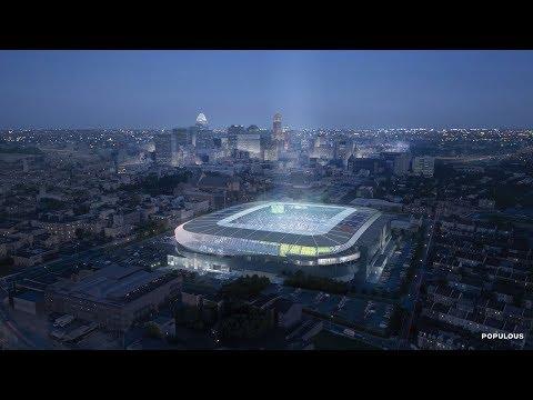 SHROOM - FC Cincinnati Stadium Design Reveal [Video]