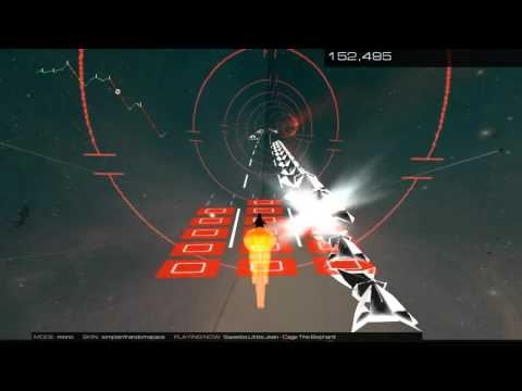 Sweetie Little Jean - Cage The Elephant | Audiosurf