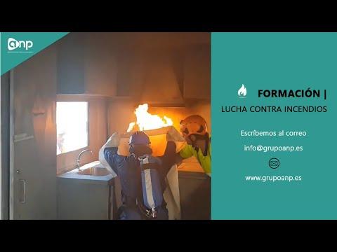 Formación en lucha contra incendios – anp