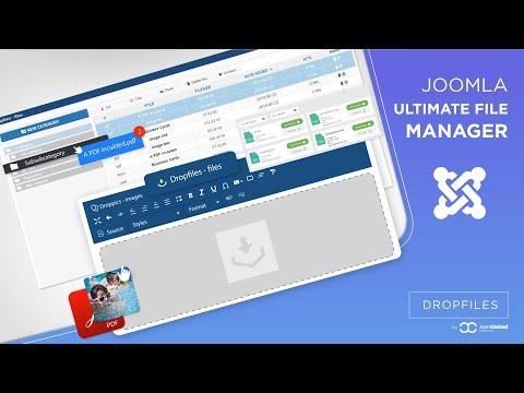 Dropfiles 4, The Joomla Ultimate File Manager