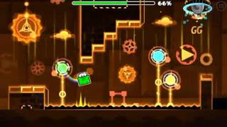 Geometry Dash (Hard) Chaotic Drive by Ferdefunky