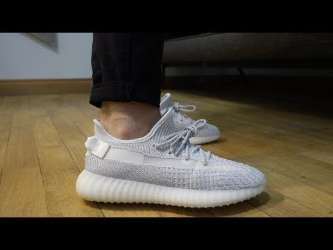 Yeezy Boost 350 V2 Static Reflective - обзор + на ногах