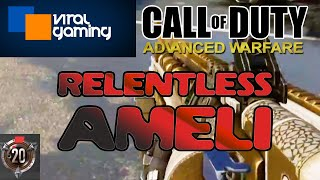 Viral Gaming -  Relentless Medal with the Ameli - Call of Duty Advanced Warfare Gameplay Commentary