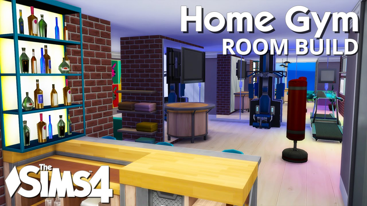 Home Gym Design: The Sims 4 Room Build