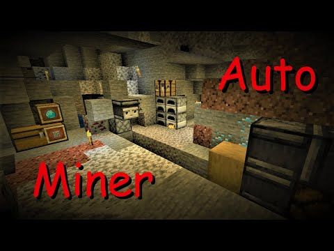 Minecraft 1.14 {tutorial} -Automatic Miner Part 1 (The AutoMiner)-