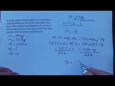 Conservation Of Linear Momentum, Section 2, Practice 5d