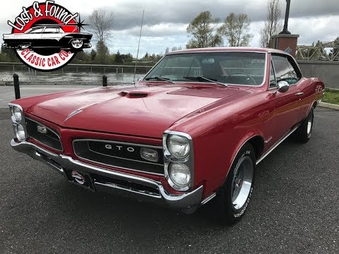 1966 Pontiac GTO | Lost & Found Classic Car Co