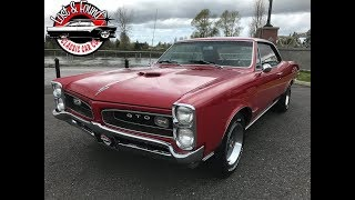 1966 Pontiac GTO Tri Power 400 4-Speed!