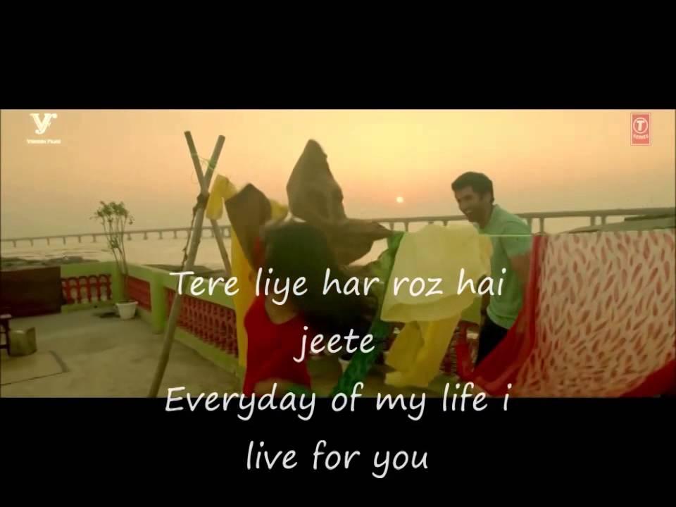 Hum Tere Bin Ab Reh Nahi Sakte With Lyrics English And