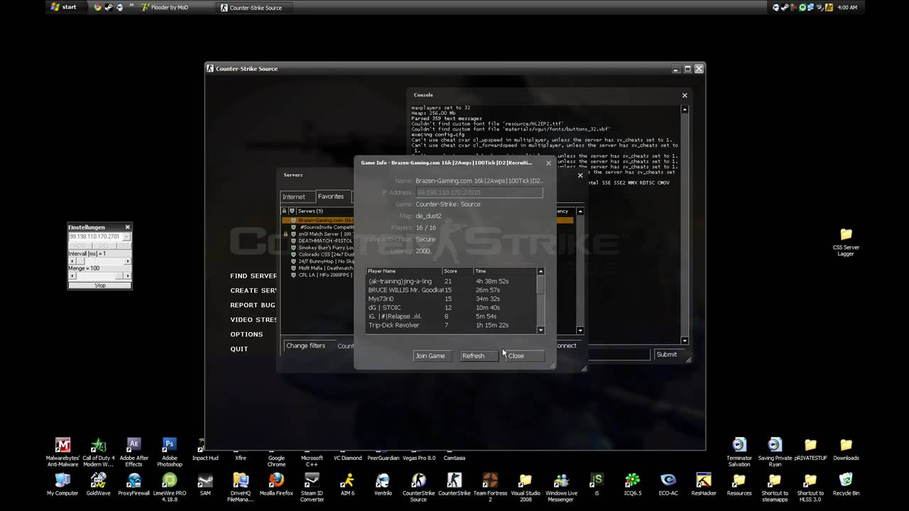 Ip сервера для css 58 автополимерсервис сайт