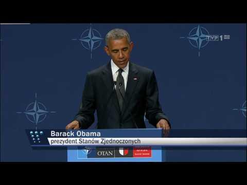 Co naprawdę powiedział Obama - Wiadomości TVP