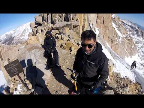 Mount Whitney - winter climb 2013