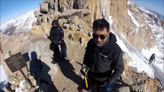 Mount Whitney - winter climb 2013