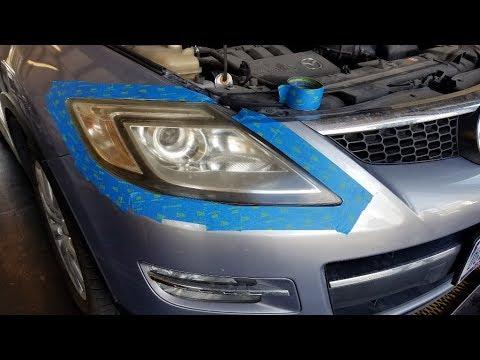 Mazda CX 9 Low Beam Headlight Replacement - YouTube