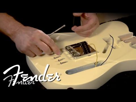How to Install a Telecaster Bridge | Fender