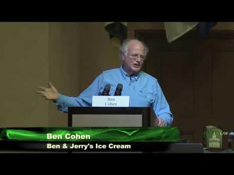 Ben Cohen of Ben & Jerry's Ice Cream
