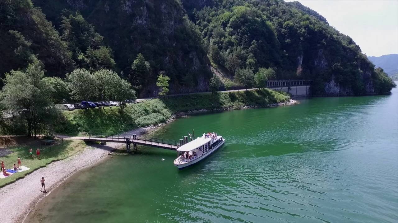 camping belvedere by drone lago didro italy youtube