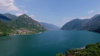 Camping Belvedere by Drone - Lago d'Idro - Italy