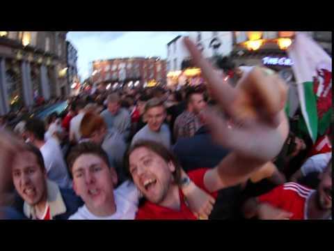 Panorama scenes in Wrexham post Wales 3-1 win over Belgium
