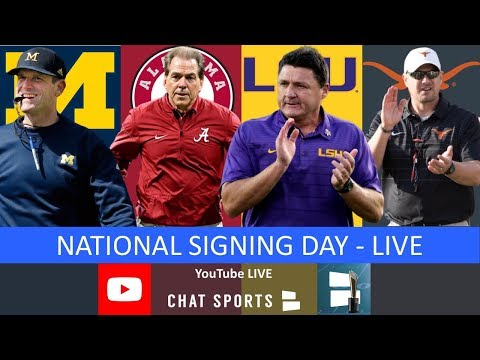 College Football Signing Day: Top 25 Recruiting Classes For 2020