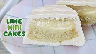 CHOCOLATE-COVERED LIME MINI CAKES   Recipe   Easy Dessert   Baking Cherry