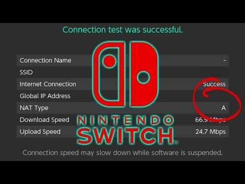 How To Get NAT Type A on Nintendo Switch