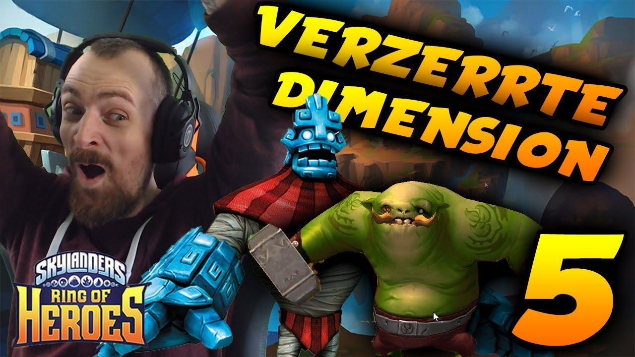 Skylanders Ring Of Heroes Gameplay Deutsch Verzerrte Dimension Neue Beschwörungen Egowhity