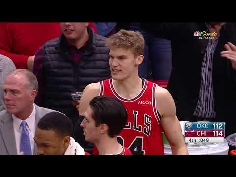 Lauri Markkanenn GAME-WINNER - Thunder vs Bulls | Dec 7, 2018 | 2018-19 NBA Season
