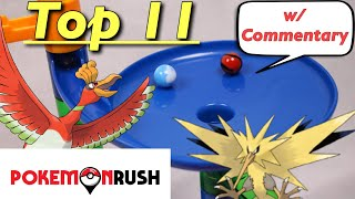 Top 11 Pokémon Marble Races in 2018 | Pokemon Rush