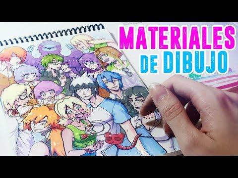 MIS MATERIALES DE DIBUJO【Narumy Natsue】