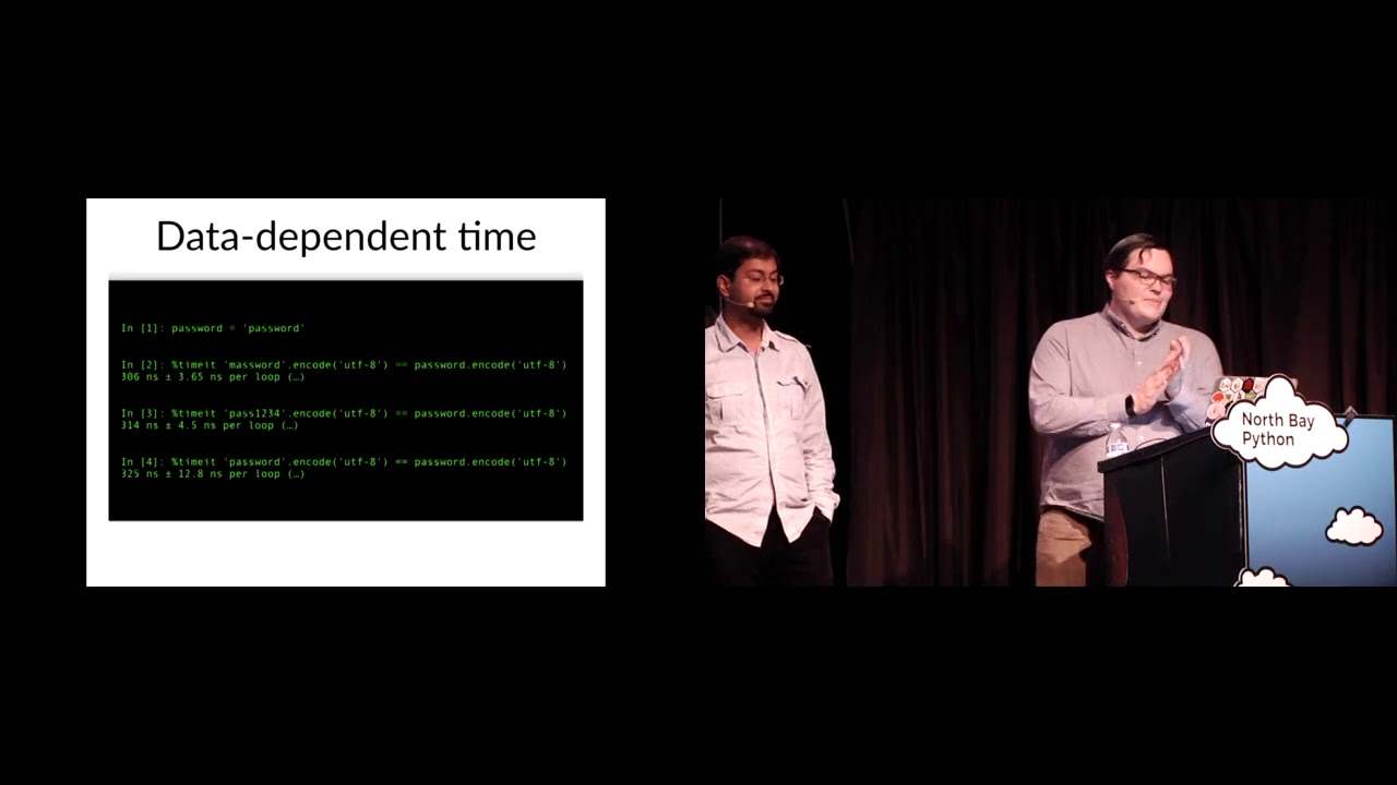 Image from All in the timing: How side channel attacks work