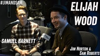 Elijah Wood & Sam Barnett in studio - Jim Norton & Sam Roberts