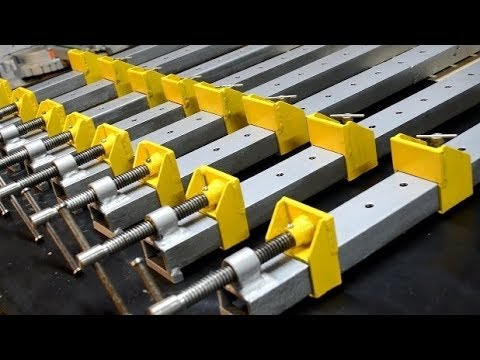 Homemade Heavy-Duty Bar clamps