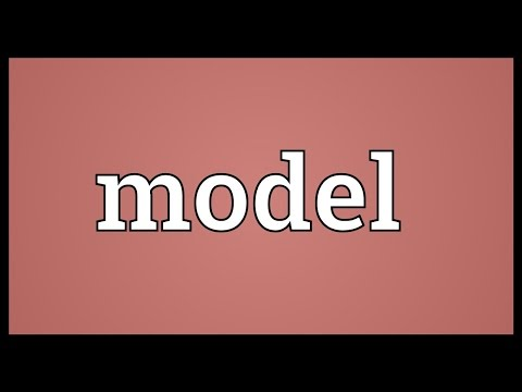 Model Meaning