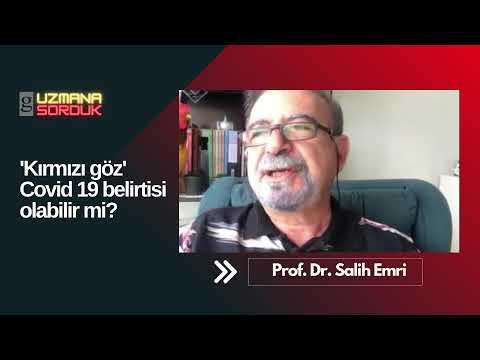 Kırmızı Göz Covid19 belirtisi olabilir mi? Gıdahattı Bilim Kurulu Üyesi Prof.Dr. Salih Emri açıkladı