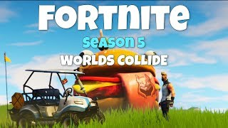 Golf carts, deserts and new skins | Fortnite Season 5 When Worlds meet