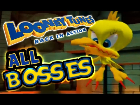 Download Looney Tunes: Back in Action All Bosses | Boss Fights  (PS2, Gamecube)
